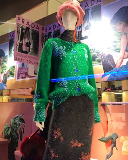 Micuccia Prada ist die treibende Kraft hinter den Modemarken Prada und Min Miu und hat damit seit Jahren Erfolg.
