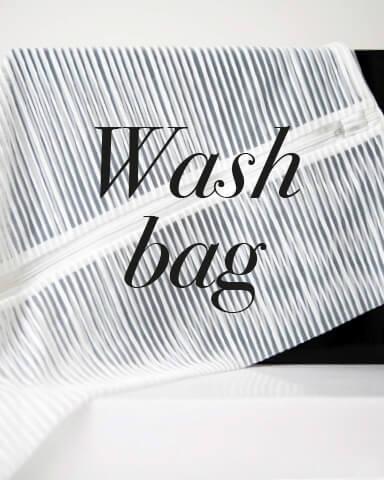 Der kleine Beutel von Woolford ist für das Waschen der Strümpfe in der Waschmaschine eine sehr sinnvolle Investition.
