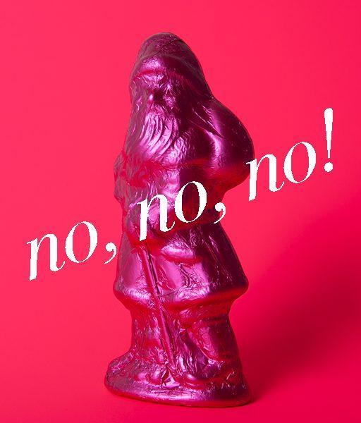 Der Weihnachtsmann in Form von GloriousMe rät, diese Geschenke besser nicht zu verschenken.